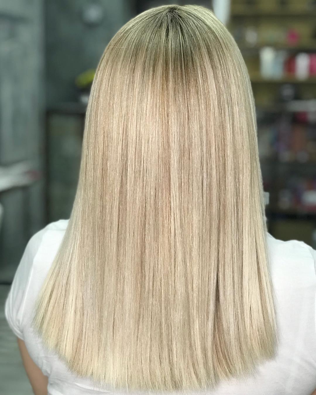 Коррекция блонда 🍨🍨🍨
